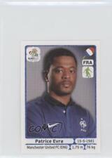 2012 Panini UEFA Euro Album Stickers #463 Patrice Evra Rookie Soccer Card
