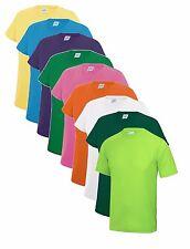 per bambini ragazzi PERFORMANCE Atletico da calcio sportivo Maglietta t-shirt