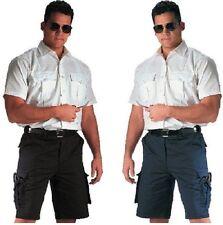 EMT & EMS Uniform Cargo Shorts NAVY 78211 OR BLACK Tactical 7 Pocket Rothco