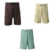 NEW Mens Notion Clothing Boardshorts Pink Flamingos Surf Swim trunks Size: 20-42