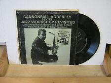 Cannonball Adderley Jazz Workshop 45 RPM RIVERSIDE