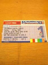 26/05/2003 BIGLIETTO: play-off Finale Divisione 1-Sheffiel