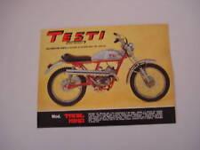 advertising Pubblicità 1971 MOTO TESTI TRAIL KING