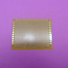 7 x 9cm Soldering Universal Circuit Board Stripboard Glass Fiber 2.54mm PCB