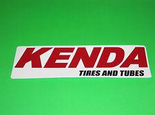 KENDA TIRES AND TUBES MOTOCROSS ATV QUAD UTV TRAILER DECAL STICKER (_)