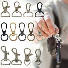 Lobster Swivel Clasps Trigger Clips Snap Hooks Key Ring Split Findings Keychain