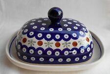 eu0506: wunderschöne Butterdose aus Bunzlauer Keramik für 250 Gramm Butter