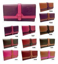 Ladies Genuine Leather Wallet Designer J Wilson Women Quality Clutch Purse Card