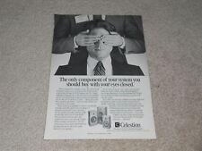 Celestion Ditton 250, 110, 100 Speaker Ad, 1pg, Article