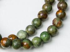 OPAL mit Matrix (Natur) Armband   ... in grün
