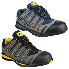 Zapatillas para hombre de Trabajo Industrial Seguridad Amblers Puntera Composite Zapatos UK3-13
