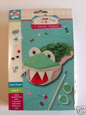 Girls Make Stick Sew Create - Glove Puppet Craft Age 6+ Make your Own