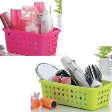 Truyoo Plastic Handy Basket Bathroom Storage Tidy Organiser 2 Modles