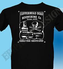 Steve Earle Inspired T-Shirt Copperhead Road Booze Rock