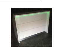 Hair & Beauty Salon Reception Desk with LED Lights - Retail Shop Counter