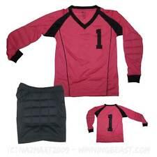 NEW - WINNING BEAST GOAL KEEPER UNIFORM KIT 341 (jersey & shorts) - FUSCHIA