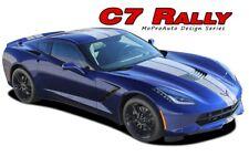 C7 RALLY Racing Stripe Dual Hood Vinyl Graphic 2014 2015 2016 2017 2018 Corvette