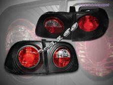 99-00 HONDA CIVIC 4D/4DR SEDAN JDM BLACK TAIL LIGHTS