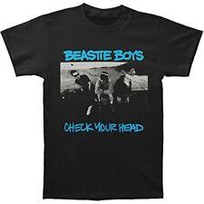 Beastie Boys Men's Check Your Head Slim Fit T-Shirt Black
