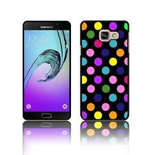 ' Polka ' Case for Samsung GALAXY A3 A5 (2016) Hard Novelty Dot Black Cover
