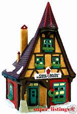 Dept. 56 Kukuck Uhren Cuckoo Clock Shop Retired 1998 Alpine Village 56191