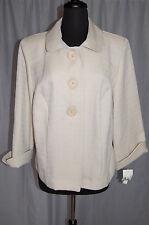COURTENAY Light Weight Swing Style 3/4 Sleeved New FABULOUS Jacket~Size 14W