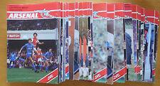 Arsenal Home Programmes 1983/84