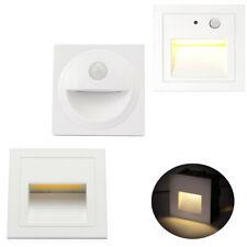 LED Treppenlicht mit Bewegungsmelder Wandeinbauleuchte Stufenlicht Leuchte IP65