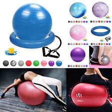 GlamexxFitnessball pumpe Ballschale Widerstandsbändern Mini PilatesBall Yogaball