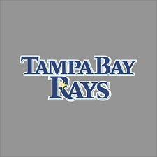 Tampa Bay Rays #10 MLB Team Logo Vinyl Decal Sticker Car Window Wall Cornhole