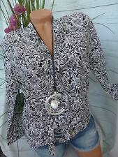Laura Scott Viskose Bluse Shirt Gr. 34 - 38 weich fallend (021) NEU