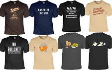 Cooles Fun Partyshirt - Funshirt Partysprüche - lustige Sprüche T-Shirt Karneval