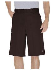 "Dickies Brown Work Short 42283 13"" Loose Fit Multi Pocket  Sizes 30 to 44"