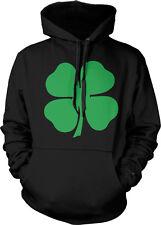 4 Four Leaf Clover Lucky Charm Irish St Patricks Day Hoodie Pullover Sweatshirt