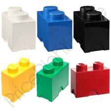 Légo stockage brique BOITE 2 boutons Enfants Chambre à coucher pour enfants