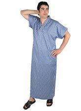Herren Kaftan Tunika Hauskleid Sommerkleid Nachthemd Sauna- Wellness- Kleid- 670