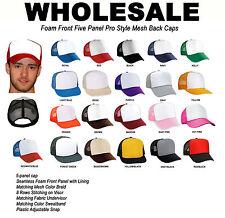 WHOLESALE 12 pc TRUCKER HAT MESH CAP Bulk Lot New U PICK COLOR Hats USA SHIPPER