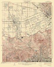 Topographical Map Print - Burbank California - USGS 1926 - 23 x 28.56