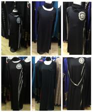 Muslim Embroidery Dress Abaya Islamic Long Sleeve Robe Arab Gown For Women Girls