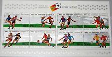 Cook Isl 1981 Block 116 664a Soccer World Cup 1982 MNH