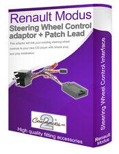 Renault Modus steering wheel control lead, car stereo stalk adaptor interface