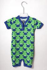 Green Cotton Baby Einteiler Spieler Schlafanzug Overall  Gr. 62 68 74 od 80 neu