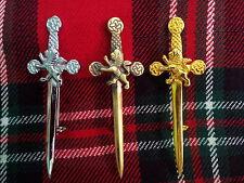 Tc escocés León Rampante Faldita Pins Diversos acabado antiguo, oro y cromado