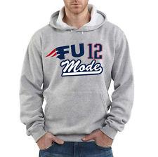 "Tom Brady New England Patriots ""FU MODE"" jersey SWEATSHIRT HOODIE"