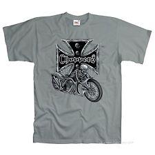 Biker Choppers Totenkopf Custombike Skull Motorrad Custom T-Shirt * 4005 zk