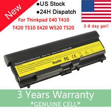 Battery for Lenovo ThinkPad T410 T420 T510 T520 SL410 SL510 E420 E425 E520 /PSU