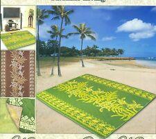 Hawaiian Waterproof Indoor Outdoor Blanket  Picnic Quilt Mat