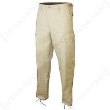 US Ranger Bdu Pantalones-Khaki-Cargo Pantalones de combate militar todos los tamaños de poliéster
