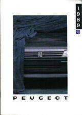 Peugeot 205 309 405 505 1988-89 Original UK Sales Brochure