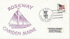 18 SEPTEMBER 1979 USS BIGELOW DD 942 US DESTROYER CACHED ROSEWAY CAMDEN MAINE